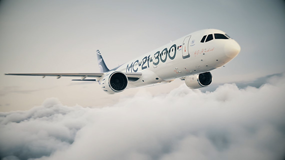3d-анимация самолета