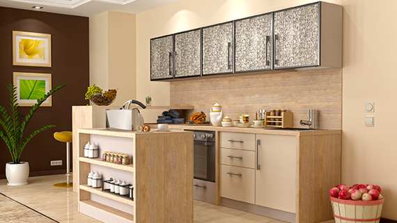 3d-визуализация кухни