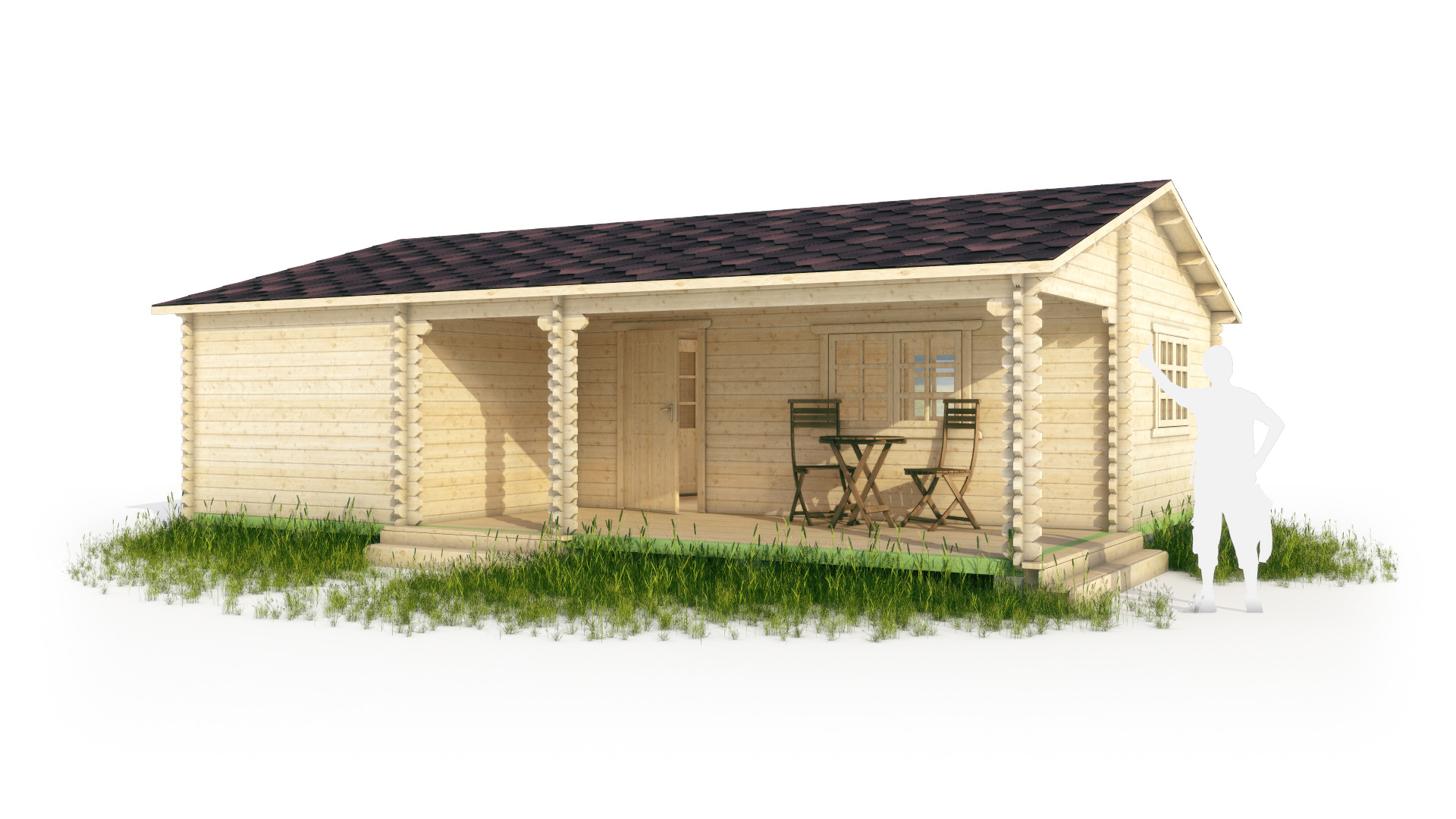 Дома из арболита фото
