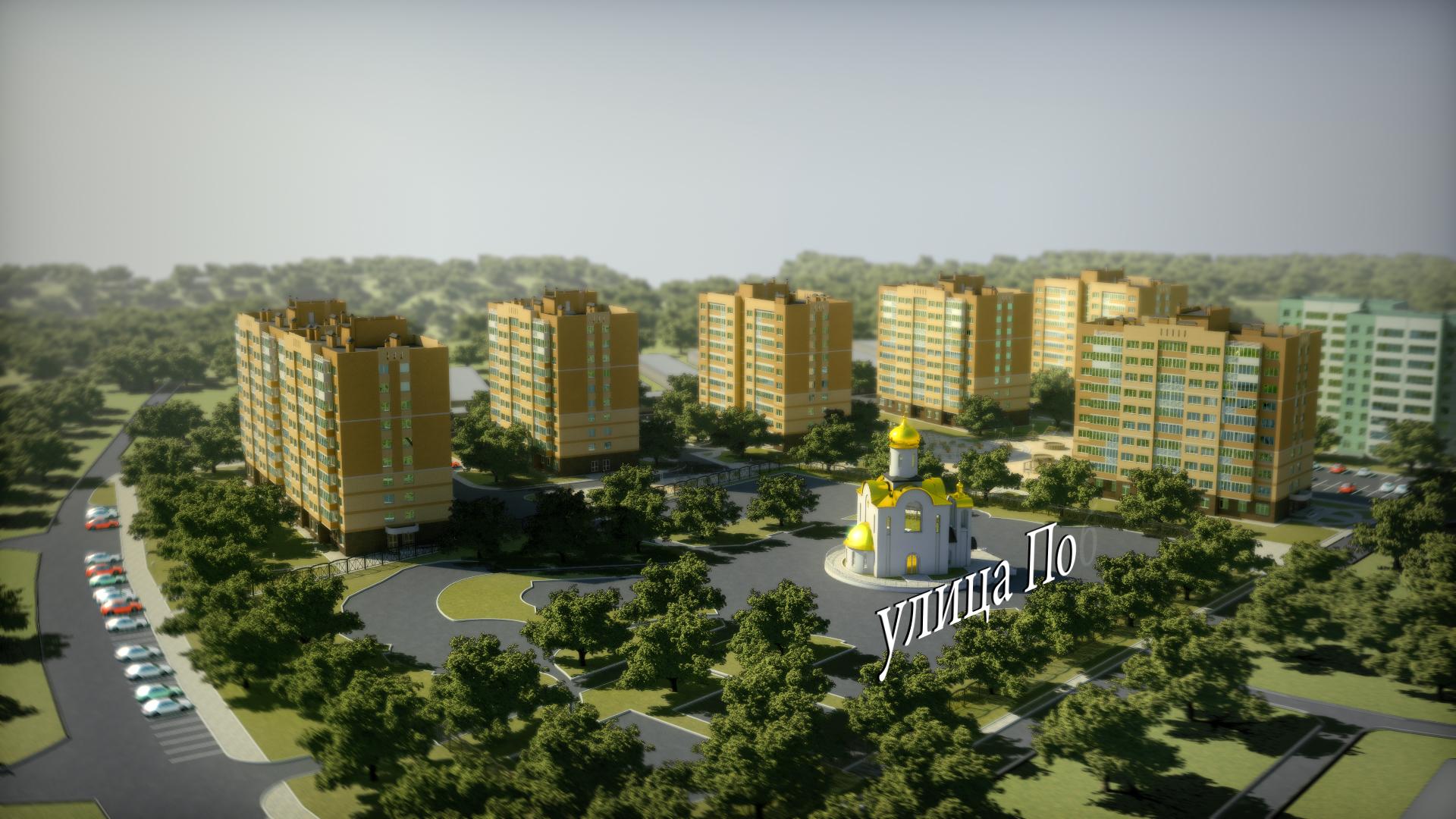 Архитектурная 3д-анимация. Вид 2