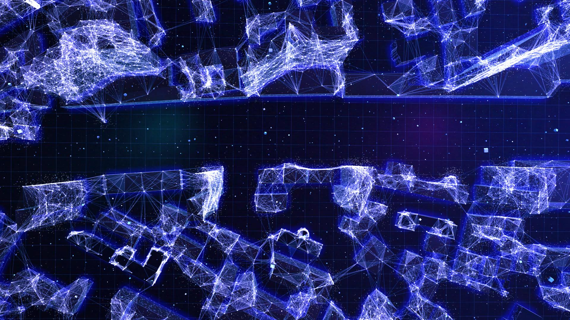 Кадр из 3d-анимации, моушен-графика