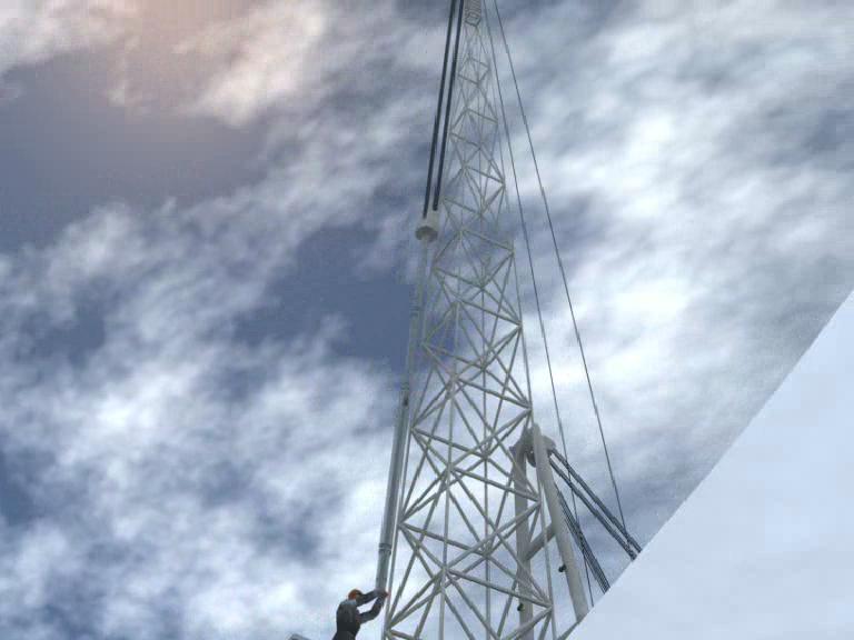 Промышленная 3d-анимация. Кадр из презентации.