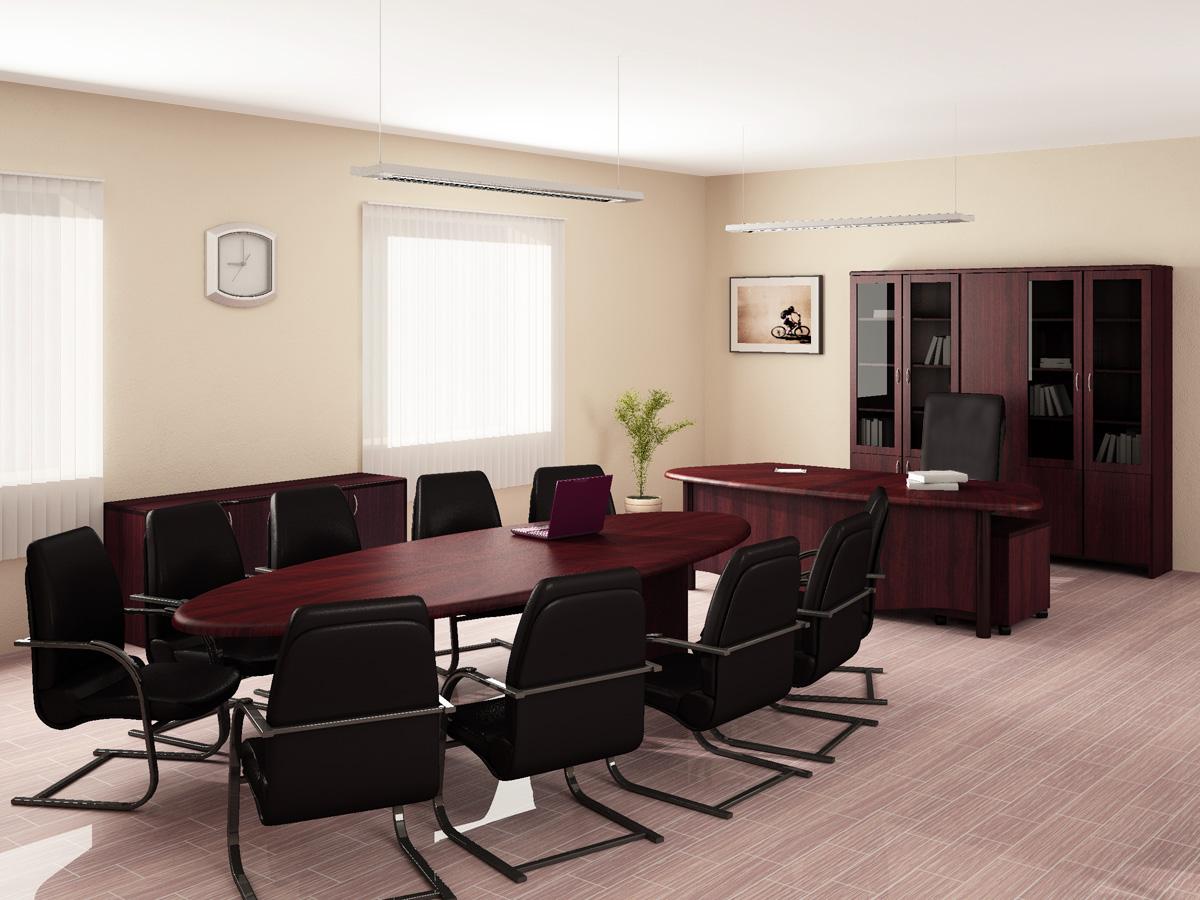 Визуализация офисной мебели для печатного каталога