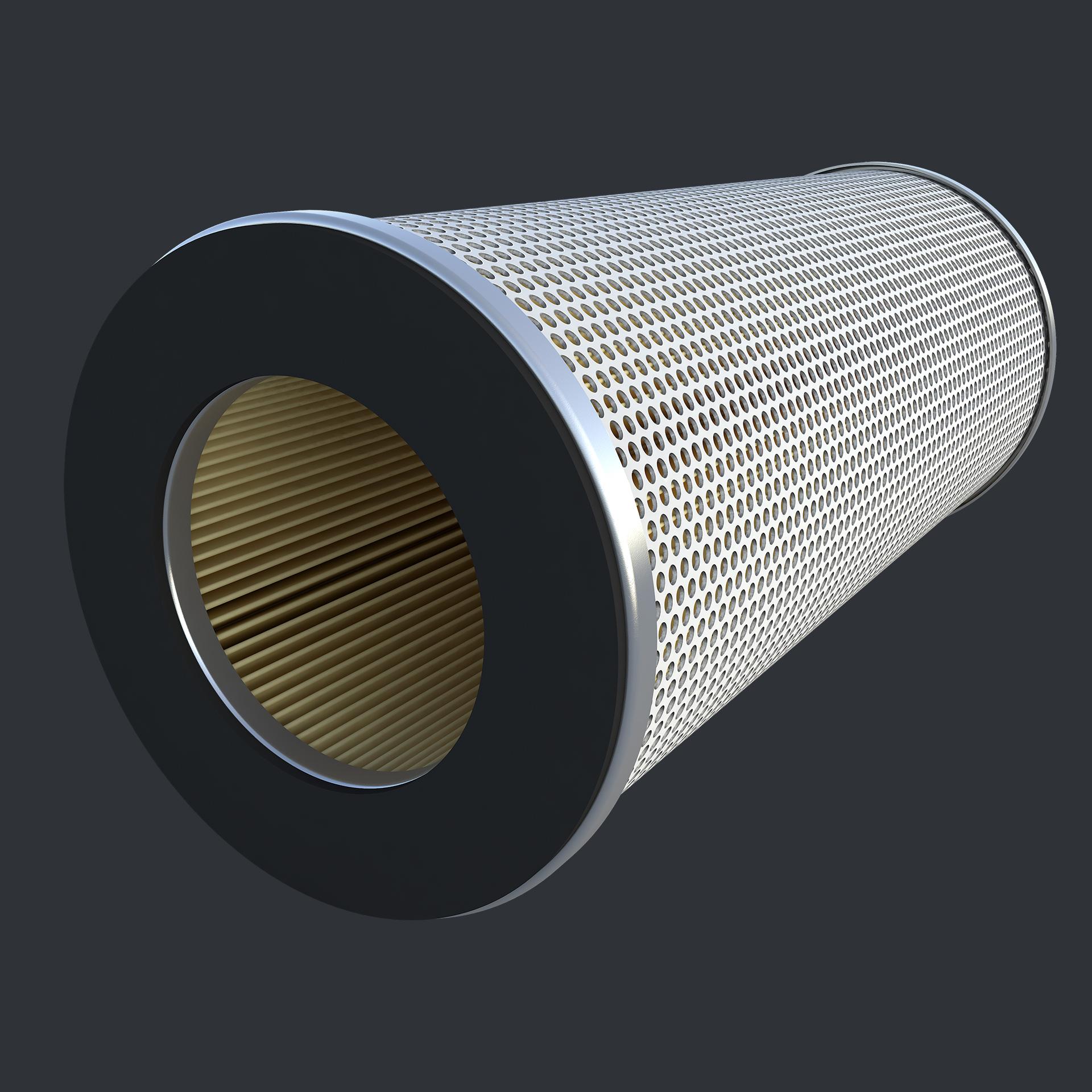 3d-визуализация фильтра для авиационной промышленности
