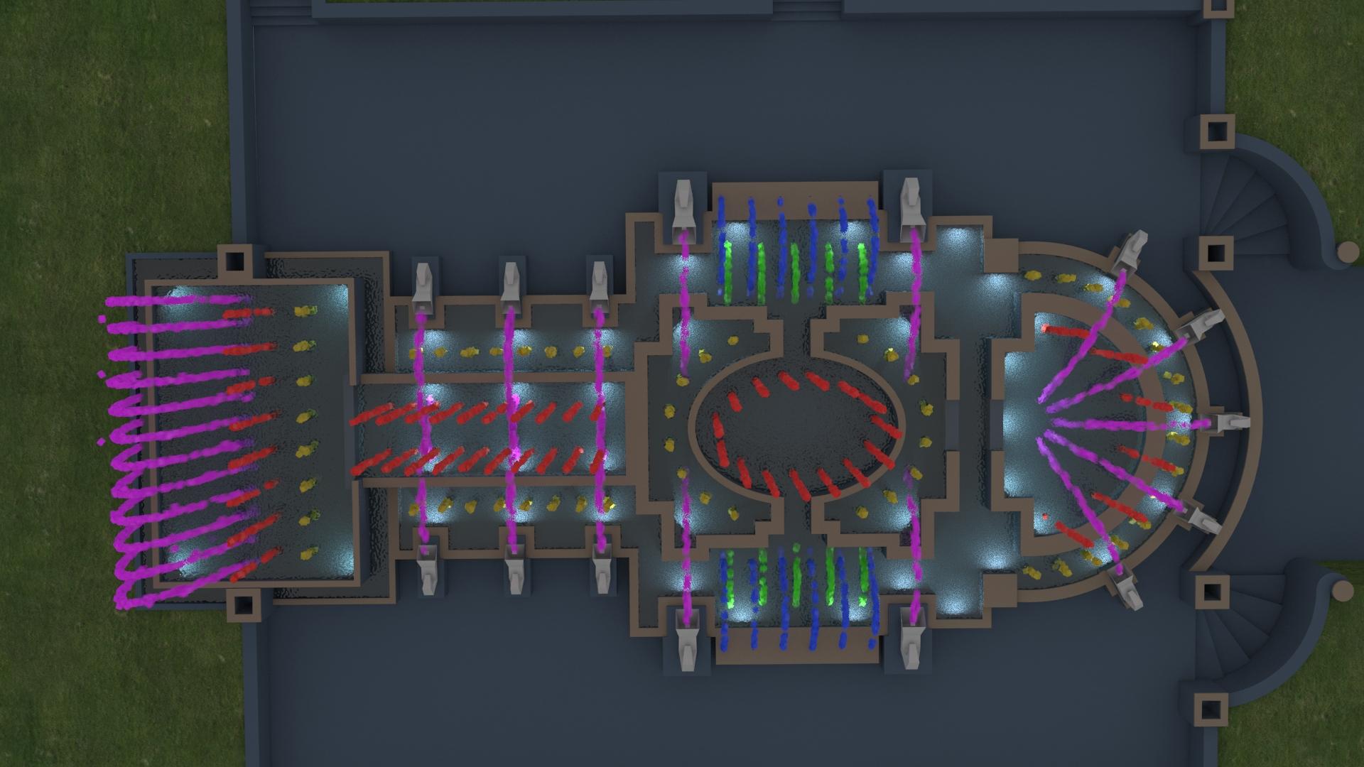 Система частиц в 3d