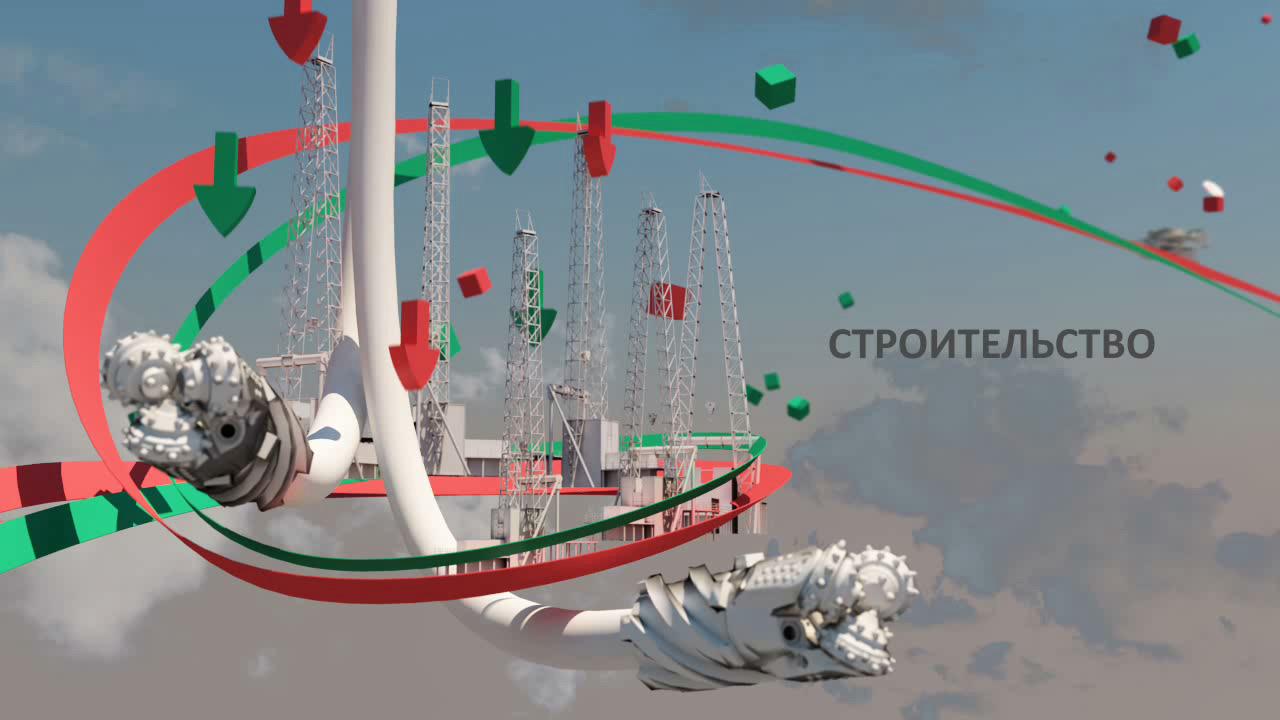 Кадр Строительство из анимационного 3d-ролика