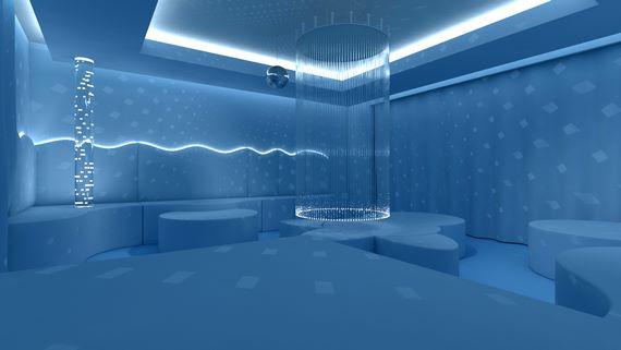 3d-дизайн комнаты отдыха, 3д-визуализация проекта