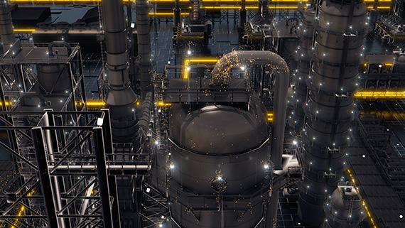 Кадр из 3d-анимации, корпоративный дизайн