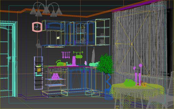 3д-сцена для визуализации