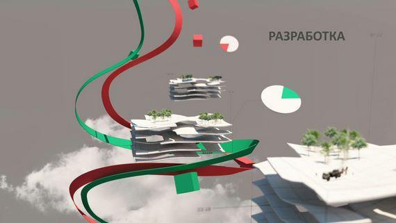 Кадр Разработка из анимационного 3d-ролика