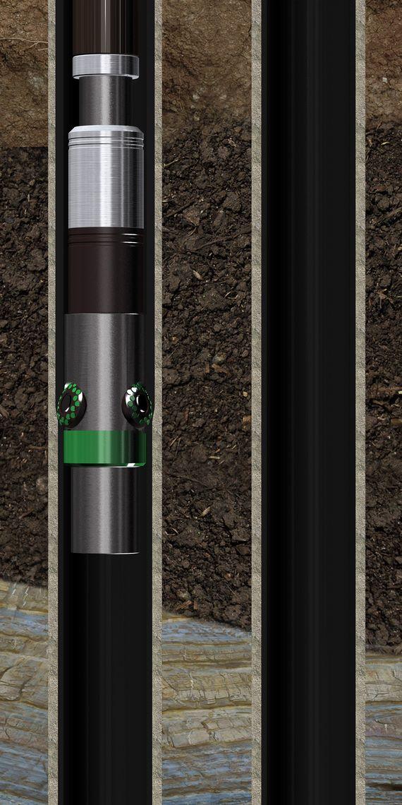 Вальцовка колонны
