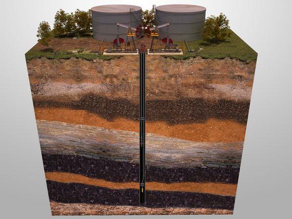 Двухлифтовая установка из двух пластов в одной скважине двумя ШГН