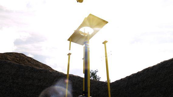 Демонтаж газовой установки с шаровым краном