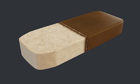 Мороженое сендвич - 3d-визуализация