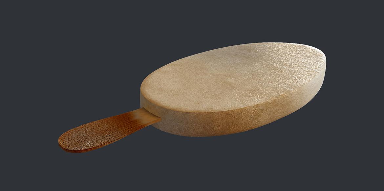 Мороженое на палочке - 3d-визуализация